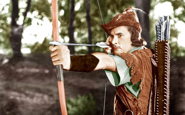 1. The Adventures of Robin Hood (1938)