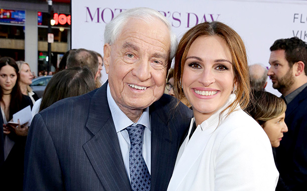 Garry Marshall With Julia Roberts at the World Premiere of Mother's Day on April 13, 2016