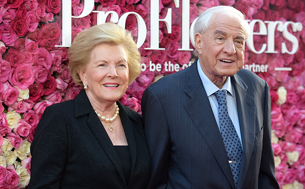Garry Marshall With His Wife Barbara Marshall at the Los Angeles Premiere of Mother's Day on April 13, 2016