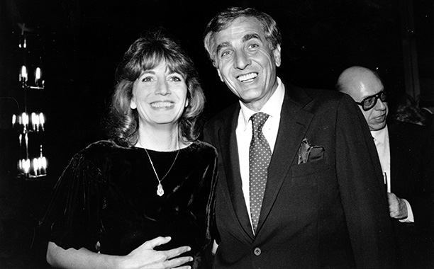 Garry Marshall With Penny Marshall in Los Angeles on December 6, 1982