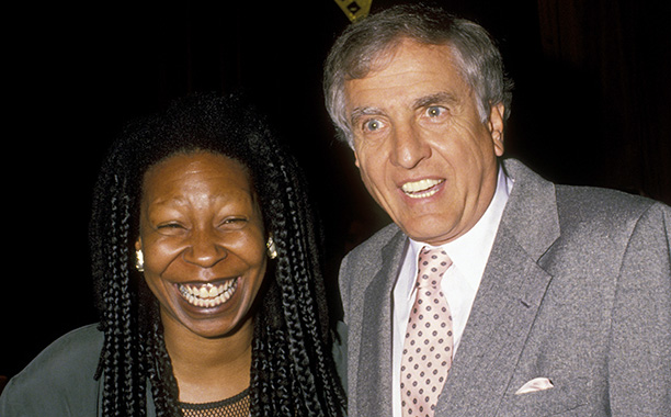 Garry Marshall With Whoopi Goldberg at the Women In Film Awards Gala on June 7, 1991