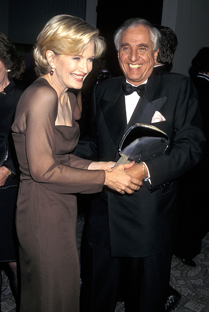 Garry Marshall With Diane Sawyer at the 13th Annual Television Academy Hall of Fame Awards on November 1, 1997