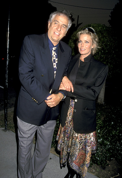 Garry Marshall With Bo Derek at his Book Party on September 27, 1995