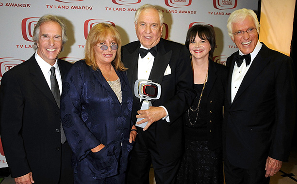 Garry Marshall With Henry Winkler, Penny Marshall, Cindy Williams, and Dick Van Dyke at the 6th Annual TV Land Awards on June 8, 2008