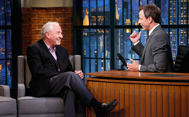 Garry Marshall on Late Night With Seth Meyers on September 30, 2014