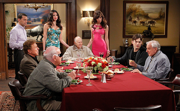 Garry Marshall on Two And a Half Men on January 9, 2014