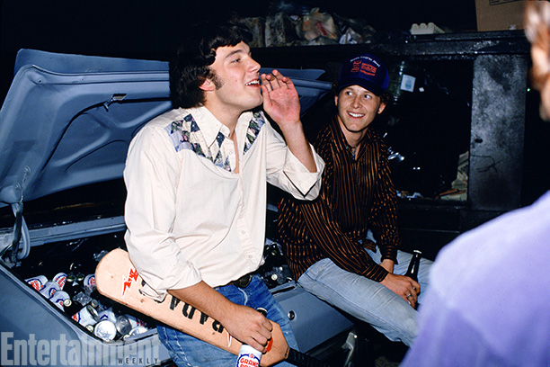 Dazed And Confused | Ben Affleck and Cole Hauser have a few more beers where that came from.