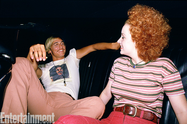 Dazed And Confused | Matthew McConaughey enjoys a laid-back moment with Marissa Ribisi. Fun fact: She's the twin sister of fellow actor Giovanni Ribisi ( Saving Private Ryan ,…