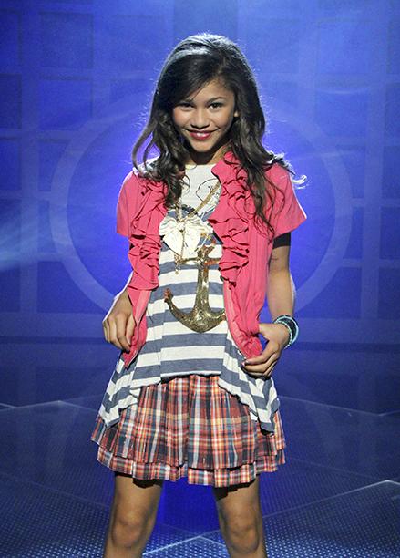 Zendaya on Shake It Up on July 26, 2010