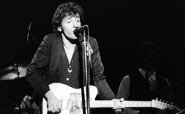 Bruce Springsteen at the Berkeley Community Theater in July 1978