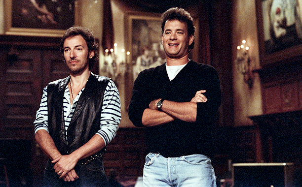 Bruce Springsteen on Saturday Night Live on May 9, 1992