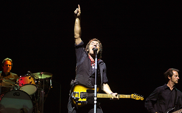 Bruce Springsteen and the E Street Band Performing in New Jersey on July 21, 2003