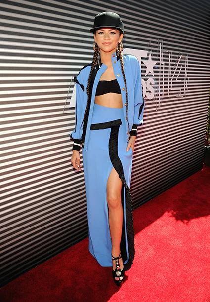 Zendaya at the BET Awards on June 29, 2014