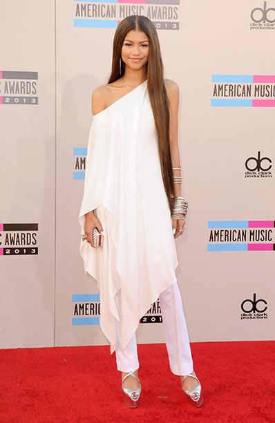 Zendaya at the 2013 American Music Awards on November 24, 2013