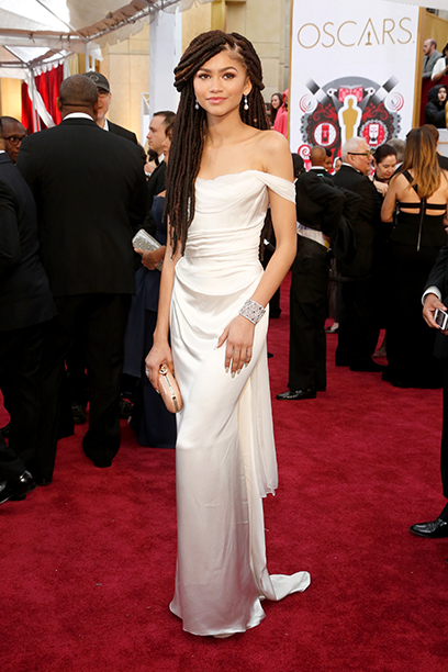 Zendaya at the 87th Annual Academy Awards on February 22, 2015