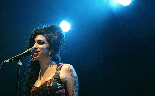 Amy Winehouse Performing in London on November 14, 2006