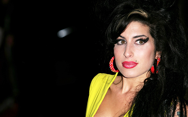 Amy Winehouse at the BRIT Awards in London on February 14, 2007