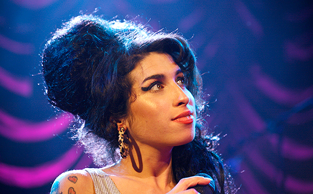 Amy Winehouse on May 28, 2007