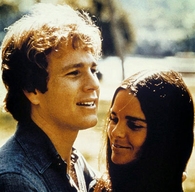Ali MacGraw, Ryan O'Neal | Erich Segal's melodrama reveals the story of two lovers — a rich Harvard jock (Ryan O'Neal) and a middle-class Radcliffe music geek (Ali MacGraw) —…