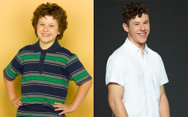 Nolan Gould as Luke Dunphy in Season 1; Nolan Gould as Luke Dunphy in Season 8