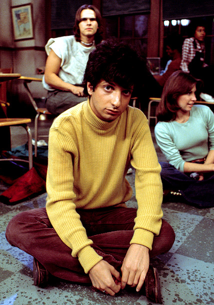 Ron Palillo, Welcome Back, Kotter | Sounding a bit like a vacuum cleaner trying to suck up a billiard ball, or the cachinnations of a gravely ill hyena, Arnold Horshack's laugh…