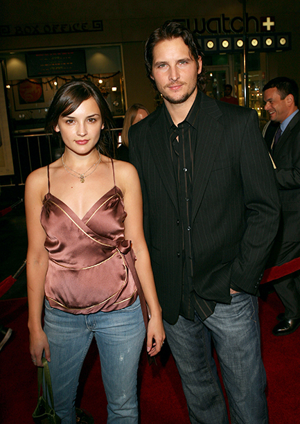 Rachael Leigh Cook and Peter Facinelli