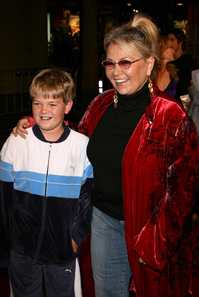Roseanne Barr and Buck Thomas