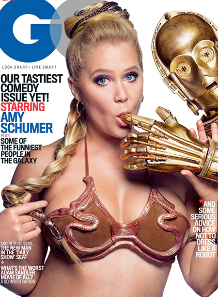 Amy Schumer as Princess Leia
