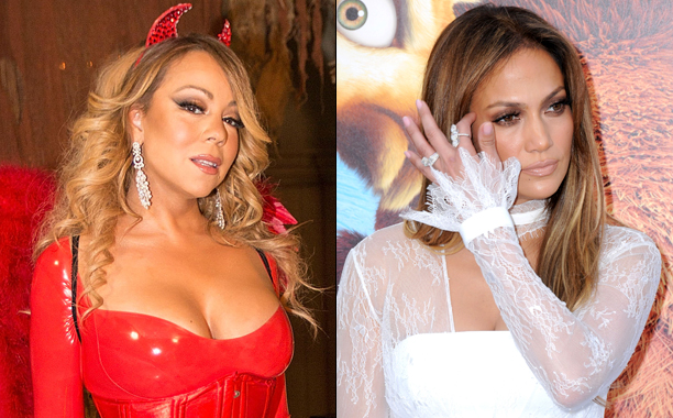 GALLERY: Music Feuds of 2016: 617326046 Mariah Carey vs. 576628806 Jennifer Lopez