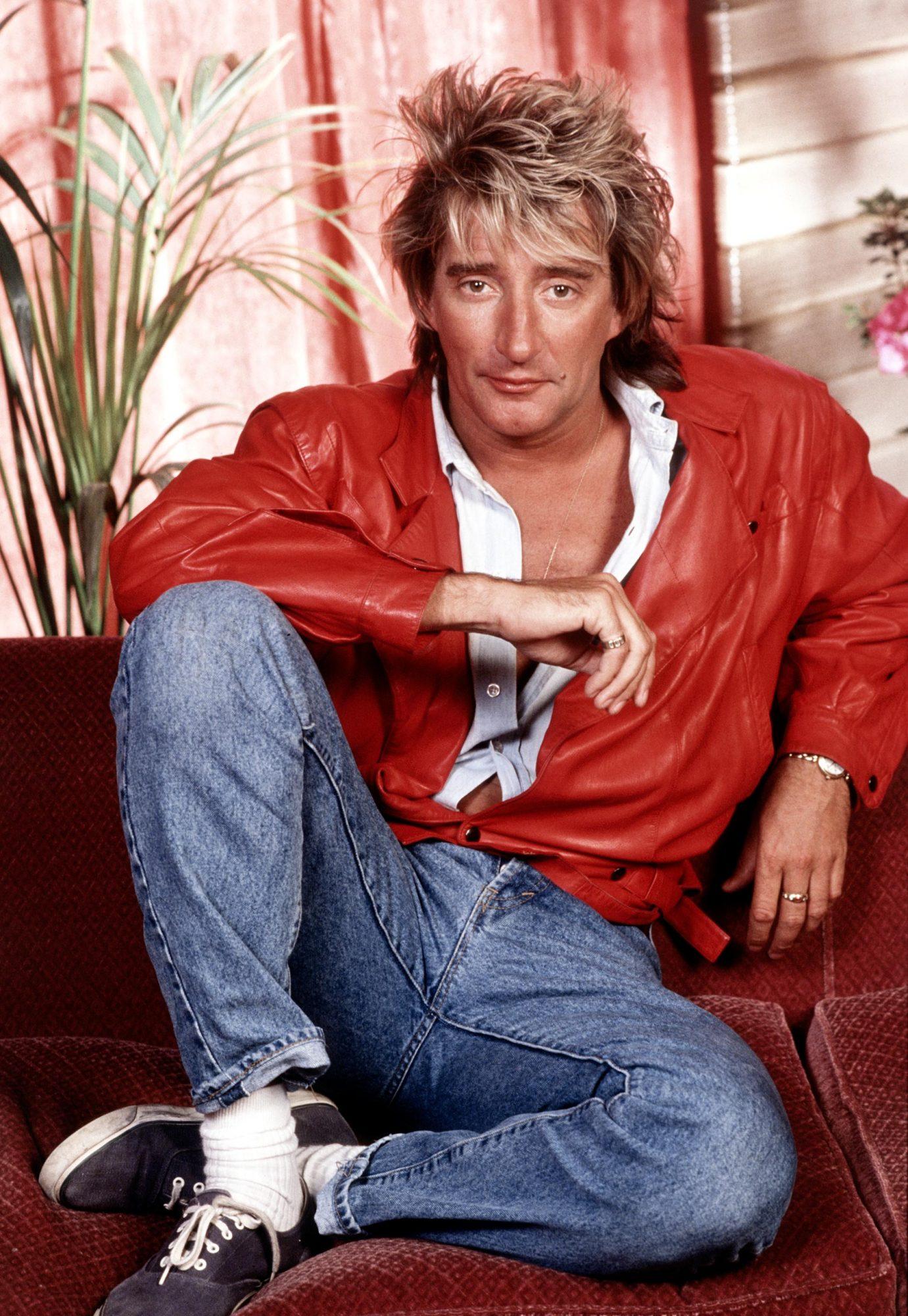 Portrait of Rod Stewart