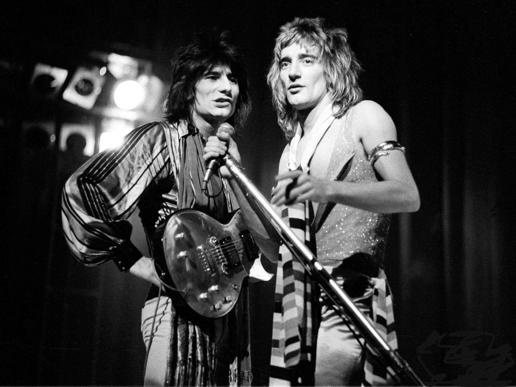 Photo of Rod STEWART and Ronnie WOOD and Ron WOOD and FACES