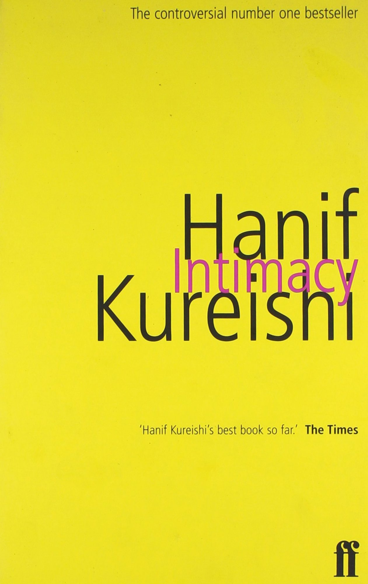 Hanif Kureishi, Intimacy