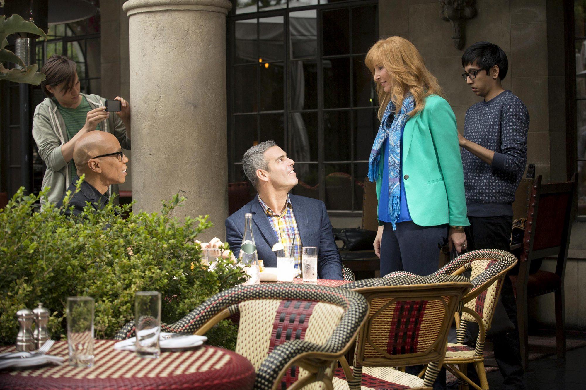 The Comeback, 2014RuPaul Charles, Andy Cohen, Lisa Kudrow
