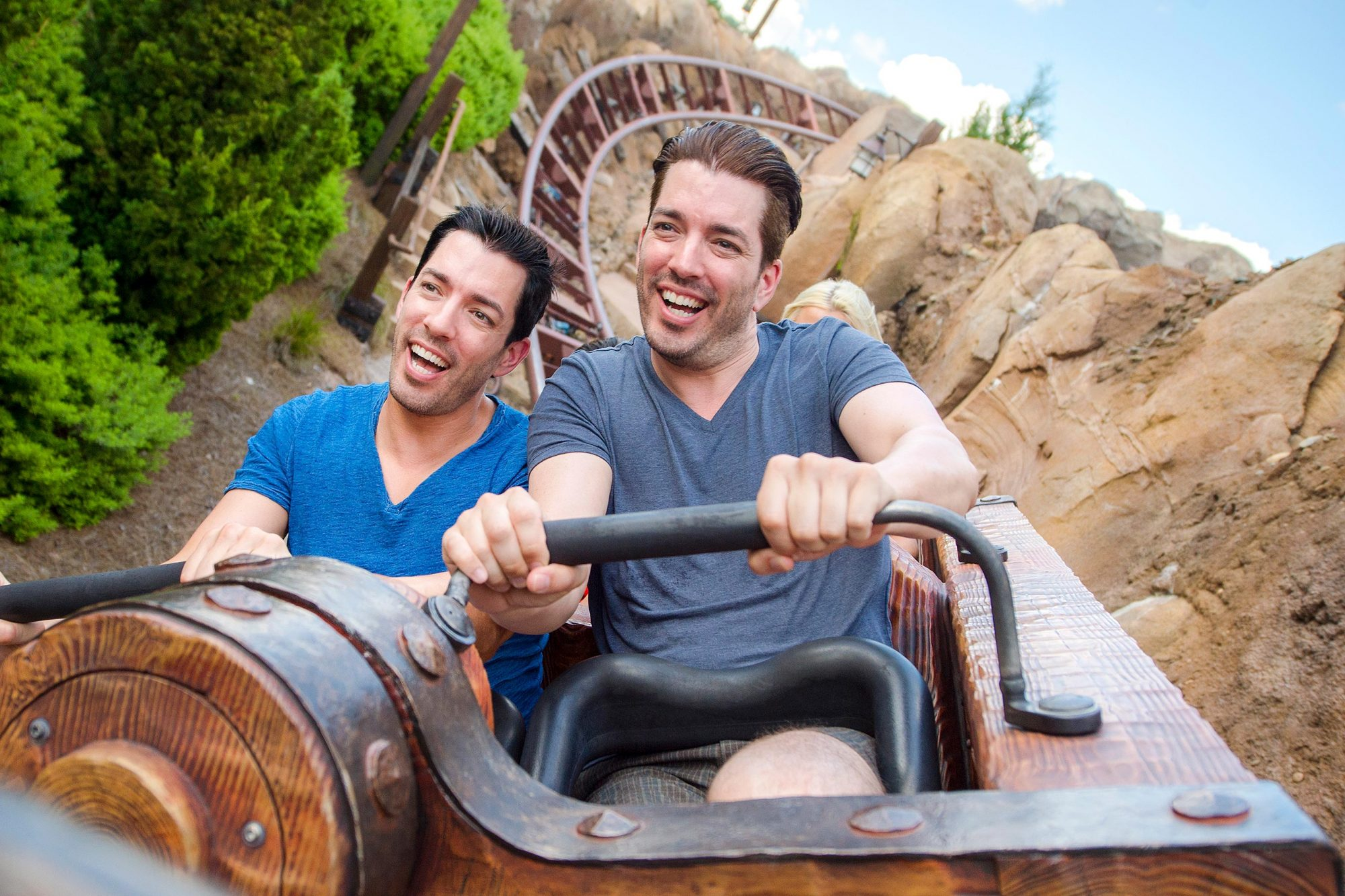 The Property Brothers Visit Walt Disney World