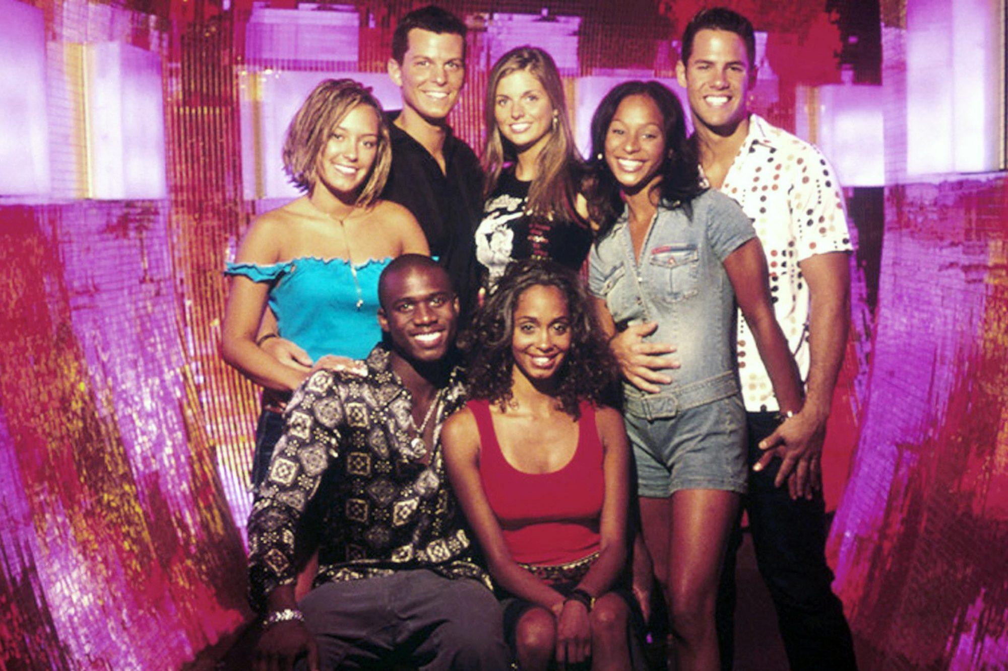 REAL WORLD: LAS VEGAS, 12th Season, (Front), Alton, Arissa, (Back), Brynn, Frank, Trishelle, Irulan,