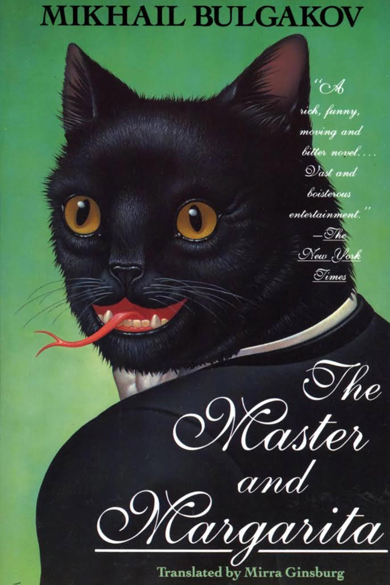 The Master and Margarita by Mikhail Bulgakov CR: The Overlook Press