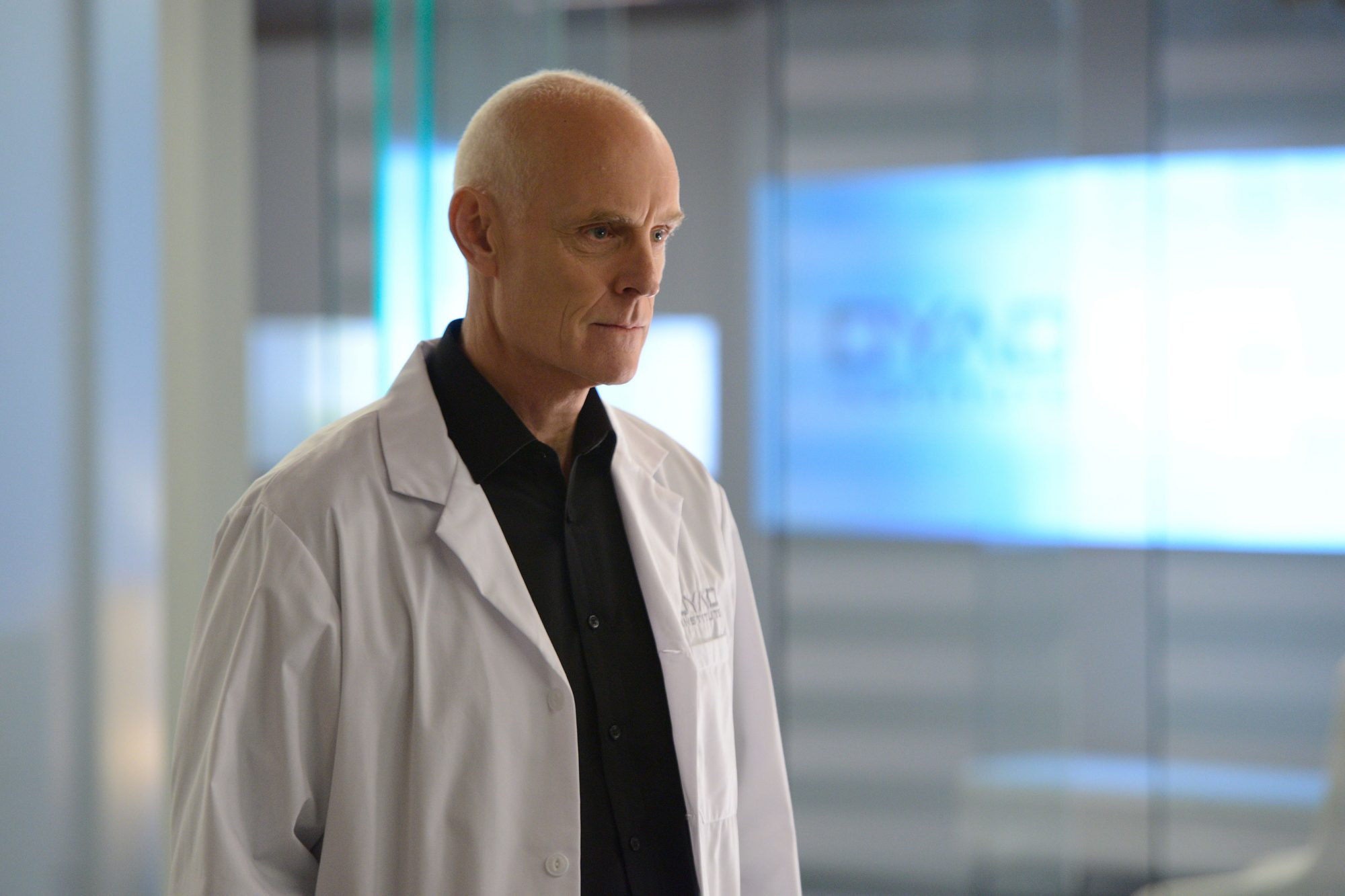 Orphan BlackDr. Leekie (played by Matt Frewer).