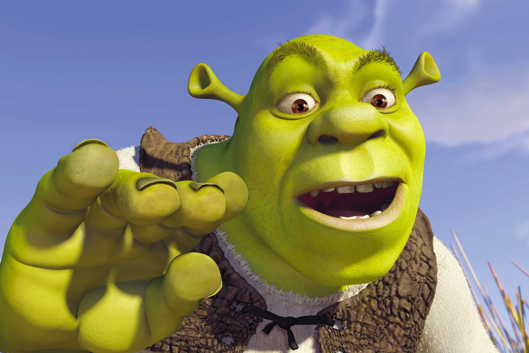 SHREK, Mike Myers as Shrek, 2001. ©DreamWorks/courtesy Everett