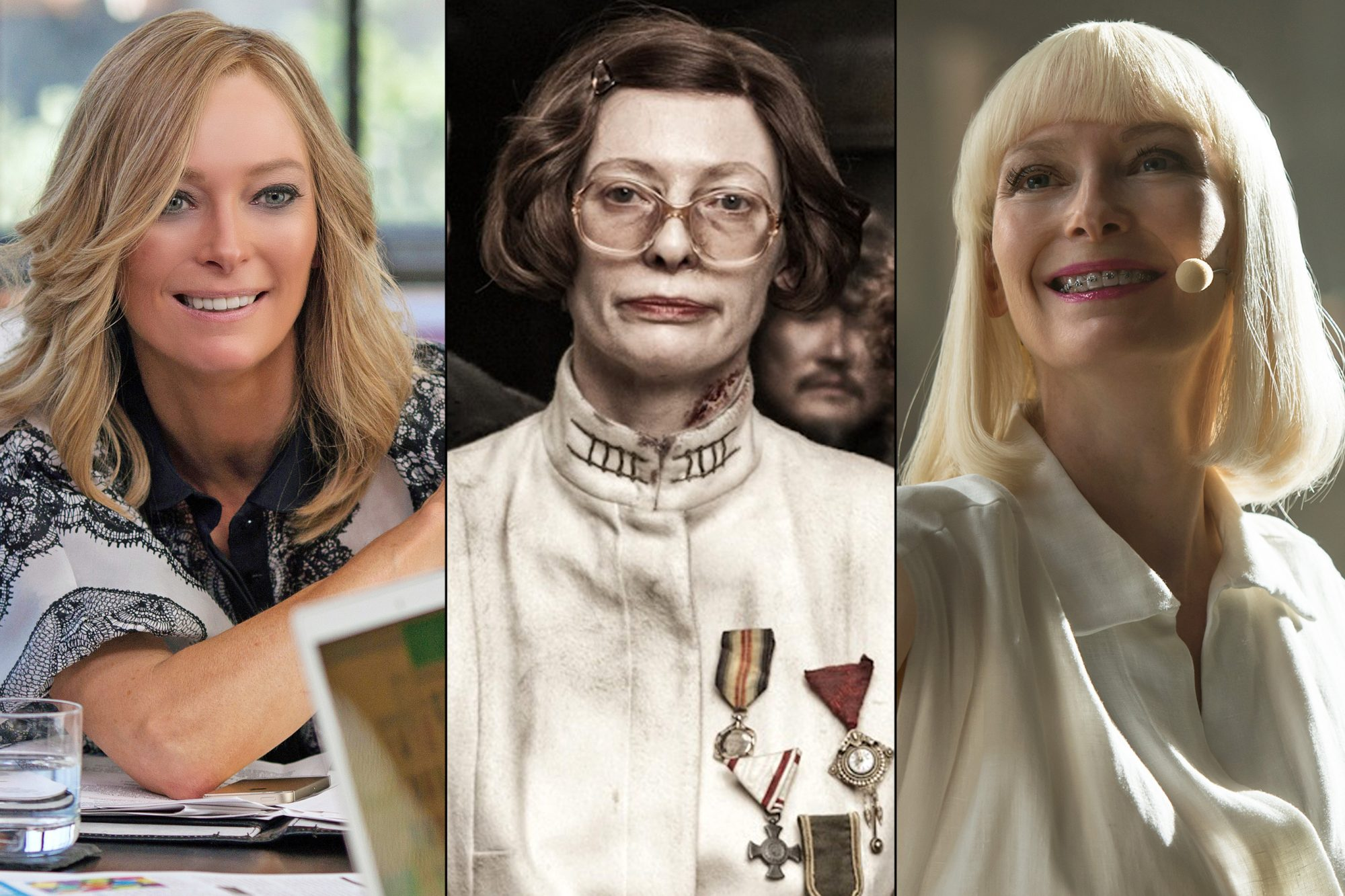 The many faces of Tilda Swinton