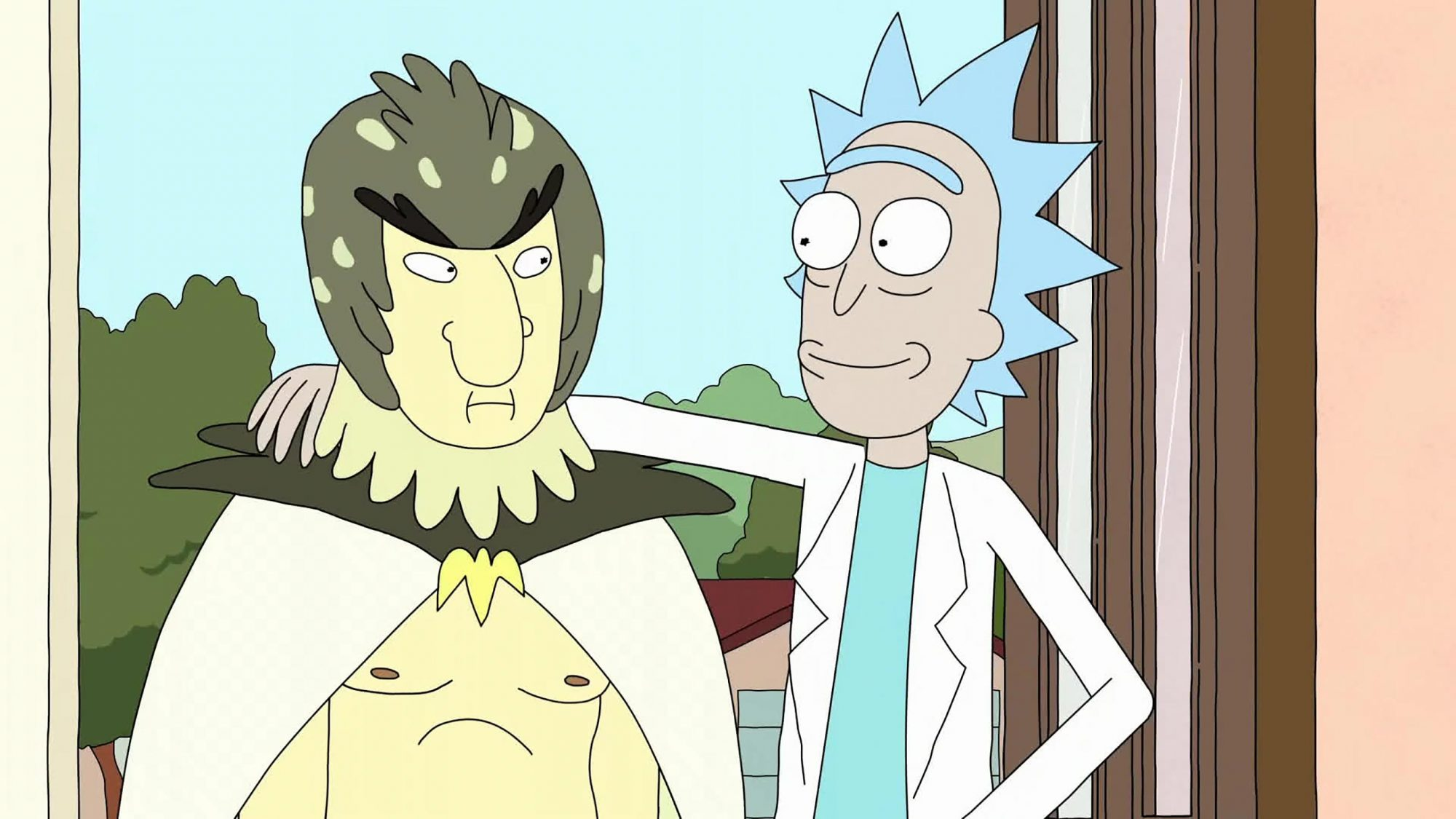 Ricky and Morty - Bird Person (Season 1, Episode 11; Season 2, Episode 10)
