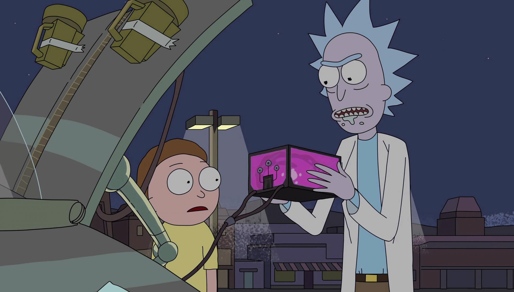 Ricky and Morty - Microverse Battery (Season 2, Episode 6)