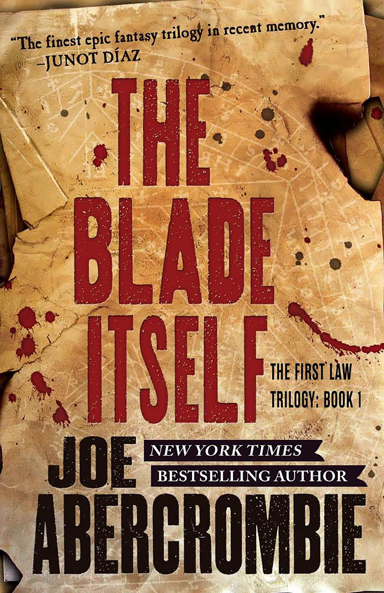Joe Abercrombie, The Blade Itself