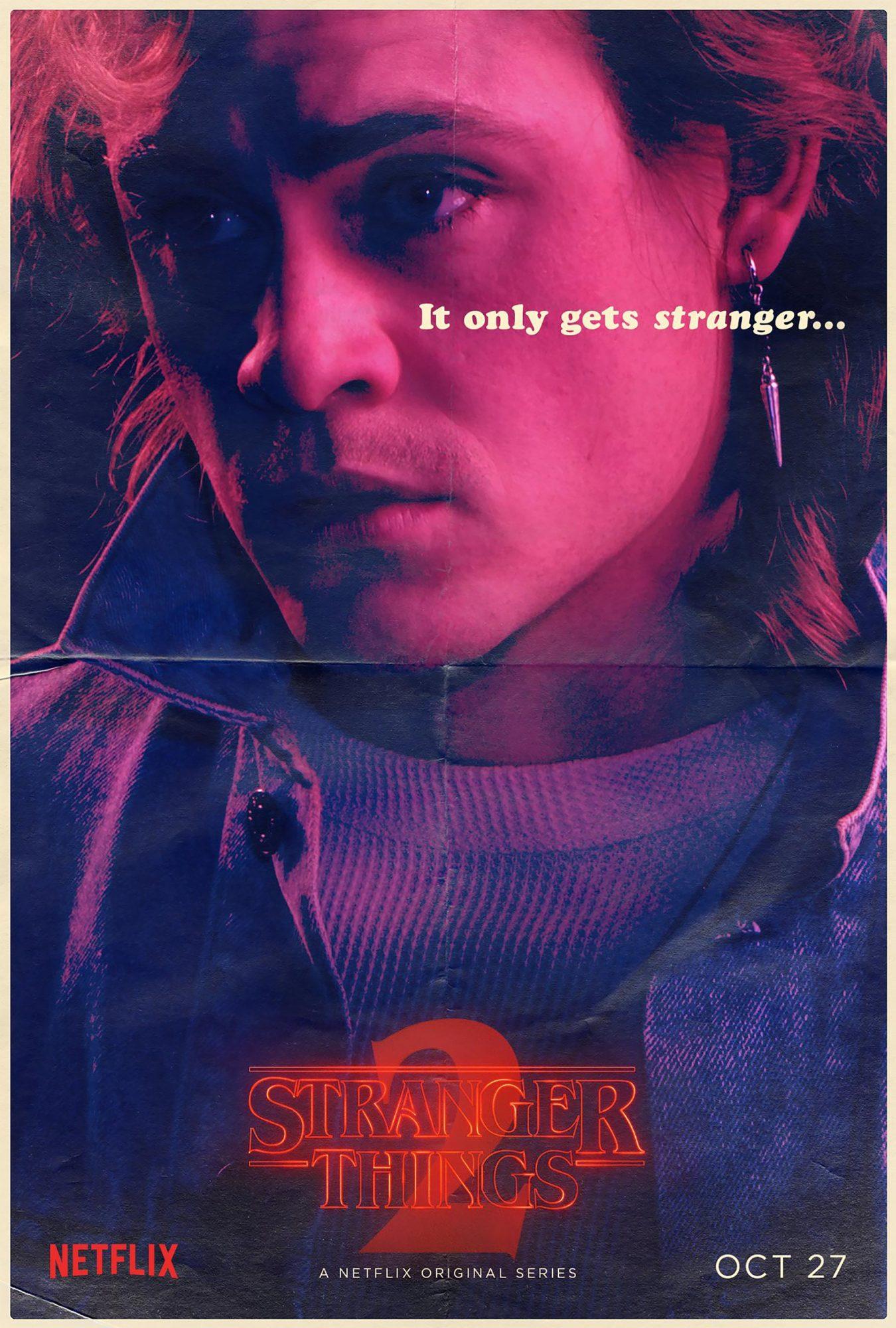 Stranger Things Season 2 - Dacre Montgomery CR: Netflix