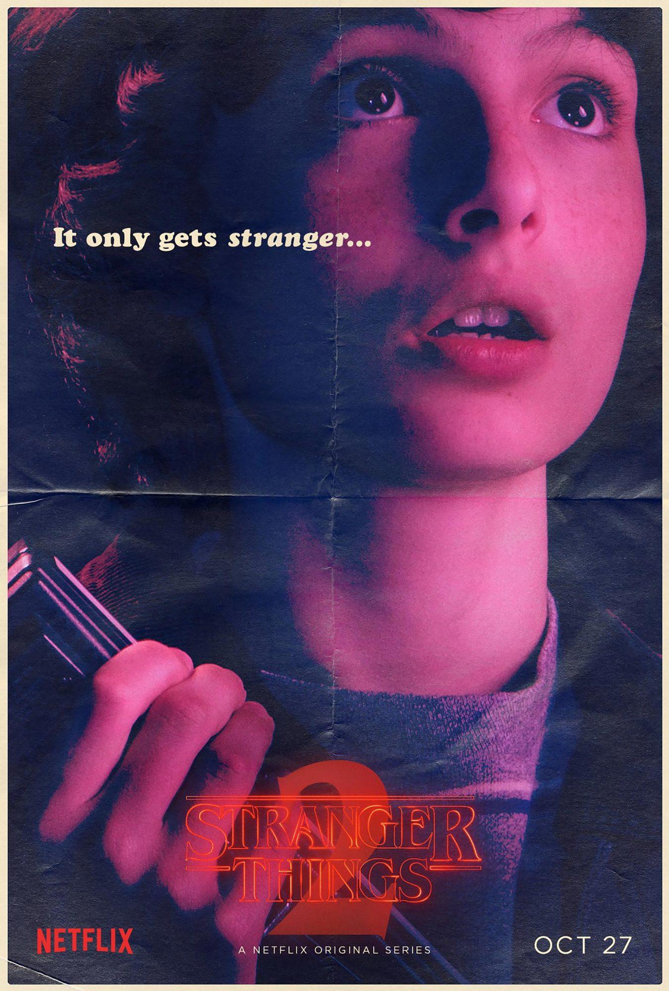 Stranger Things Season 2 - Finn Wolfhard CR: Netflix