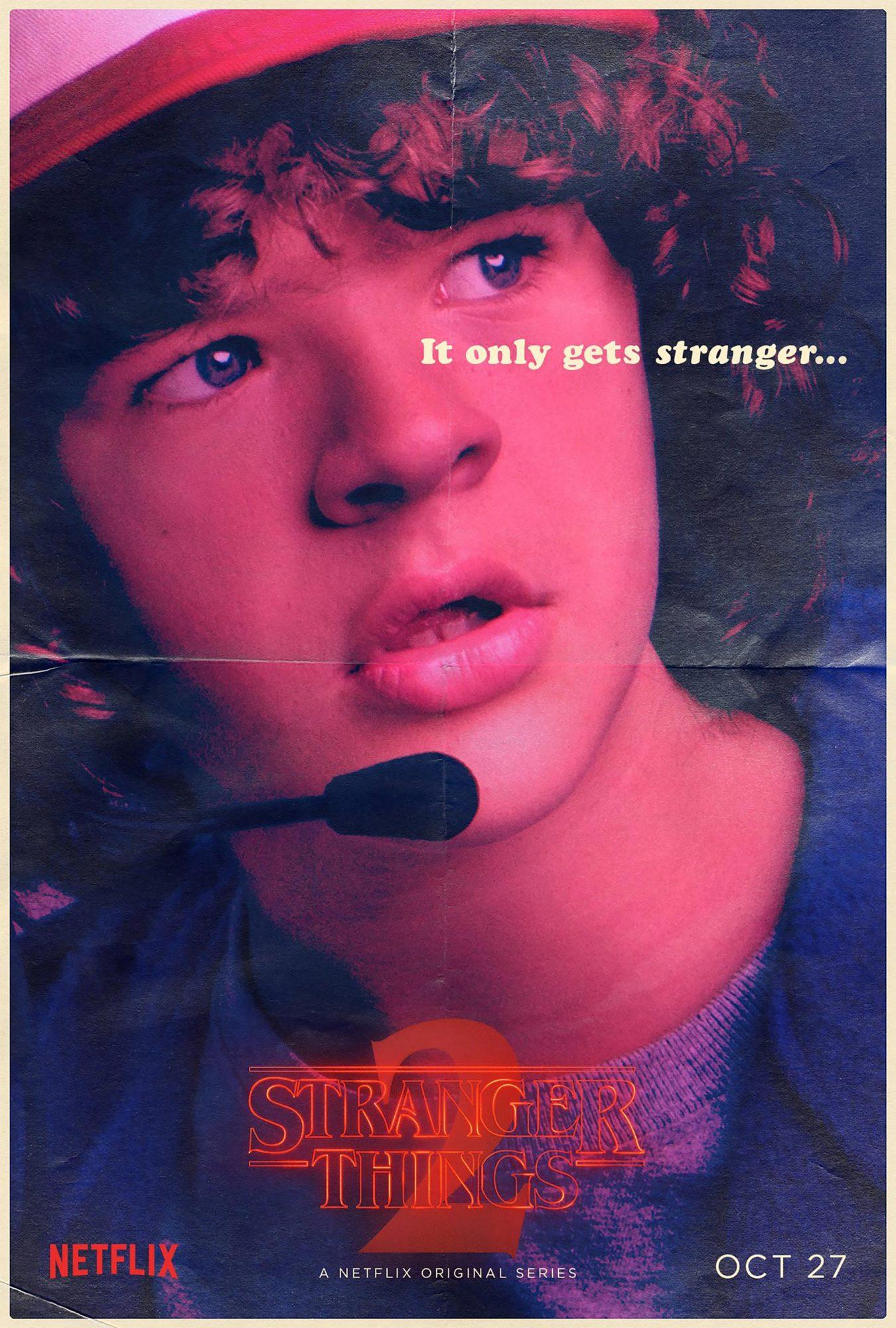 Stranger Things Season 2 - Gaten Matarazzo CR: Netflix
