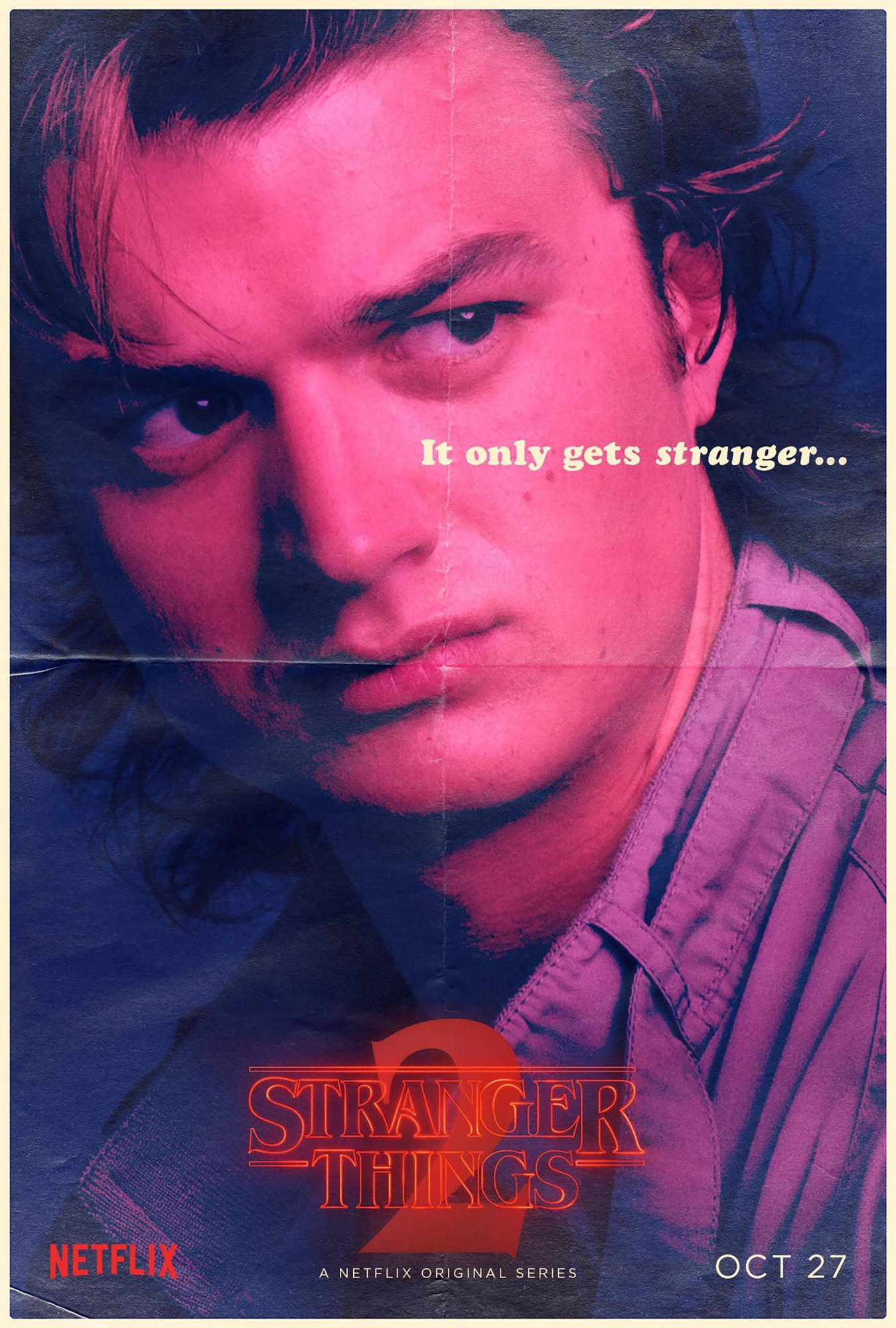 Stranger Things Season 2 - Joe Keery CR: Netflix