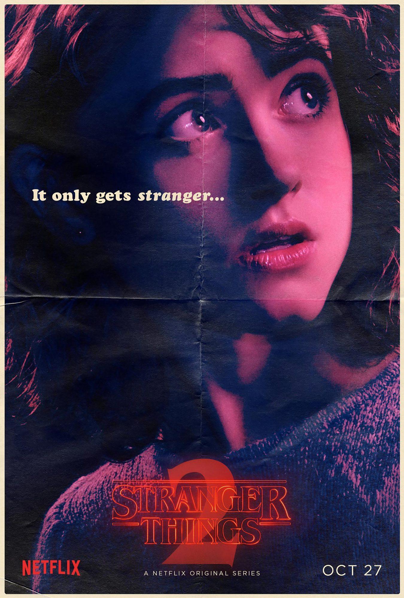 Stranger Things Season 2 - Natalia Dyer CR: Netflix