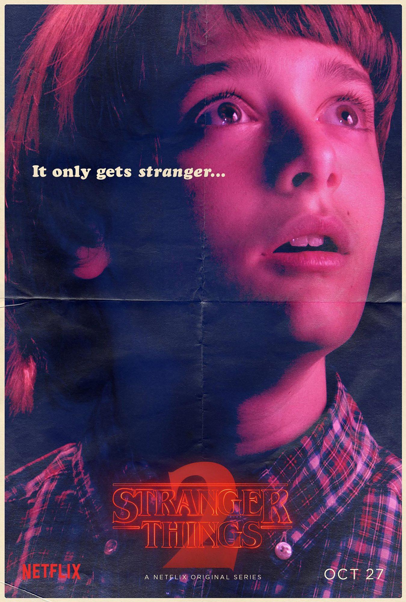 Stranger Things Season 2 - Noah Schnapp CR: Netflix