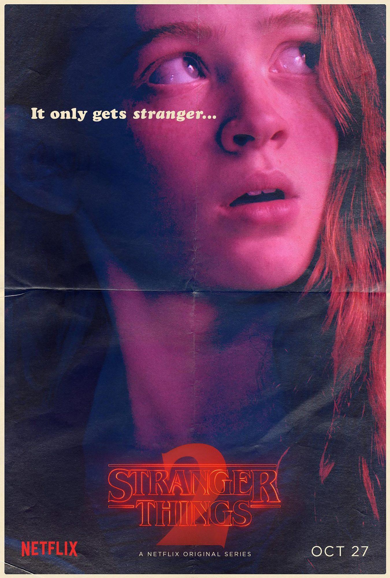 Stranger Things Season 2 - Sadie Sink CR: Netflix
