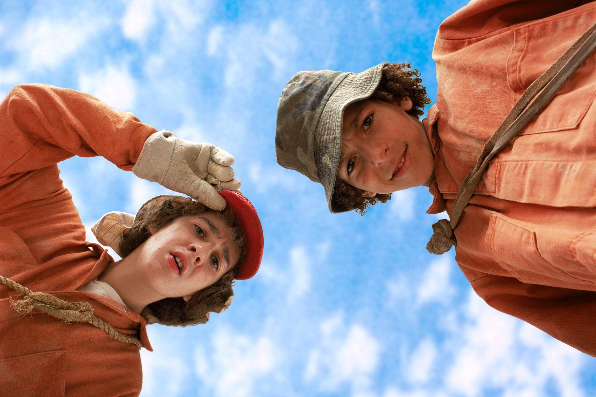 Holes (2003)Shia LaBeouf (L) and Khleo Thomas